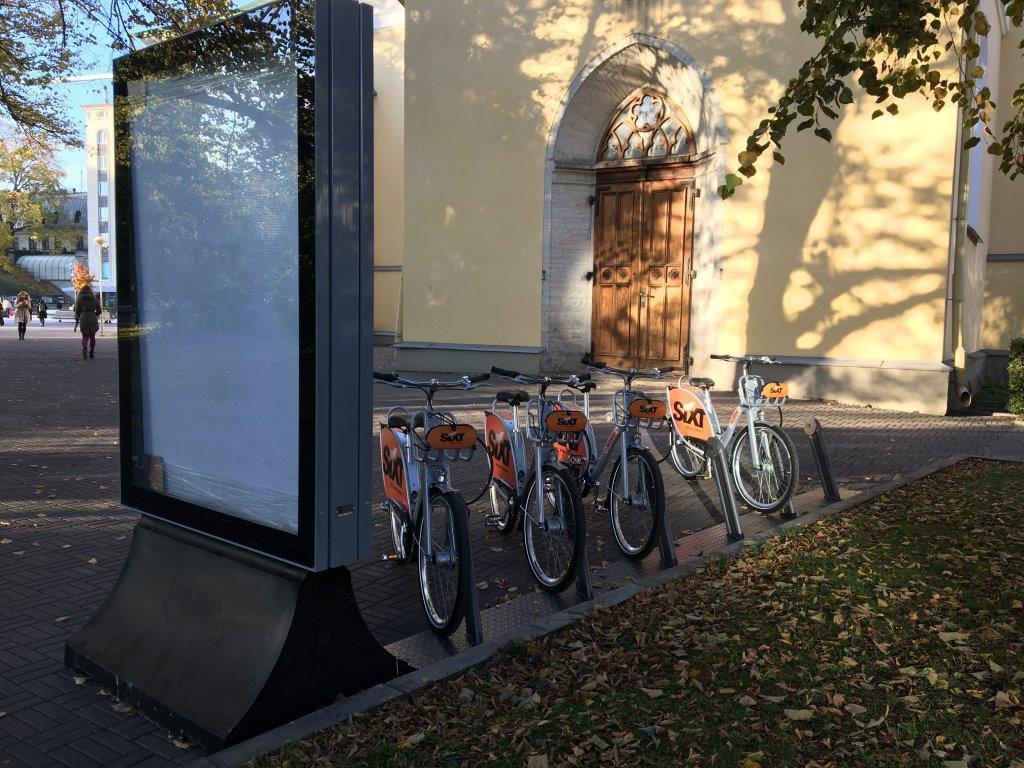 jalgrattarent-vabaduse-valjak