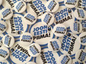 """""""Joona Eesti piima"""" rinnamärgid ja magnetid Foto: Maxima Eesti"""