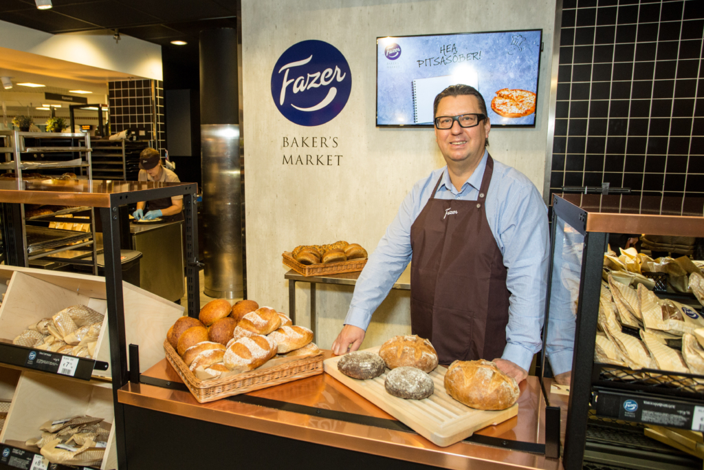 Fazer avas Tallinnas ja Pärnus pagarikoja