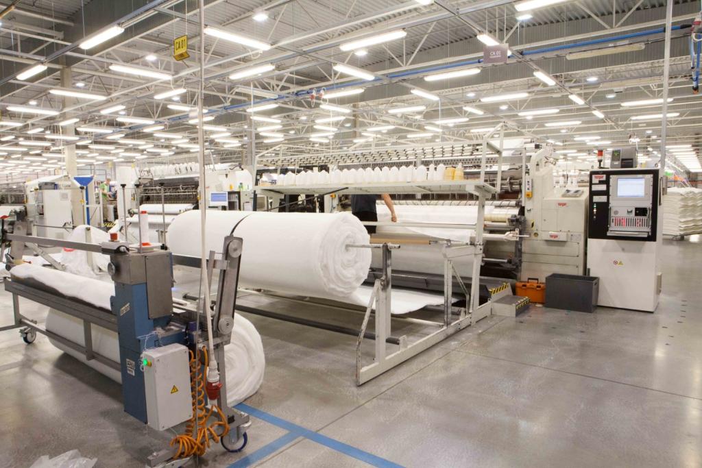 Sleepwelli madratsite tootja avas tehase laienduse