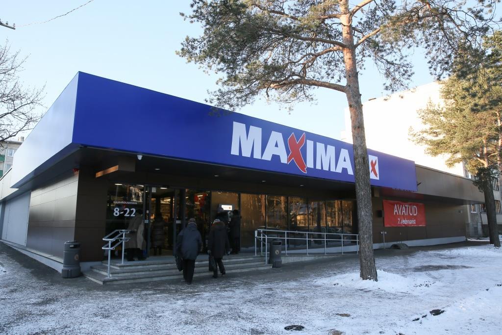 Renoveeriti üks esimestest Maxima poodidest Eestis