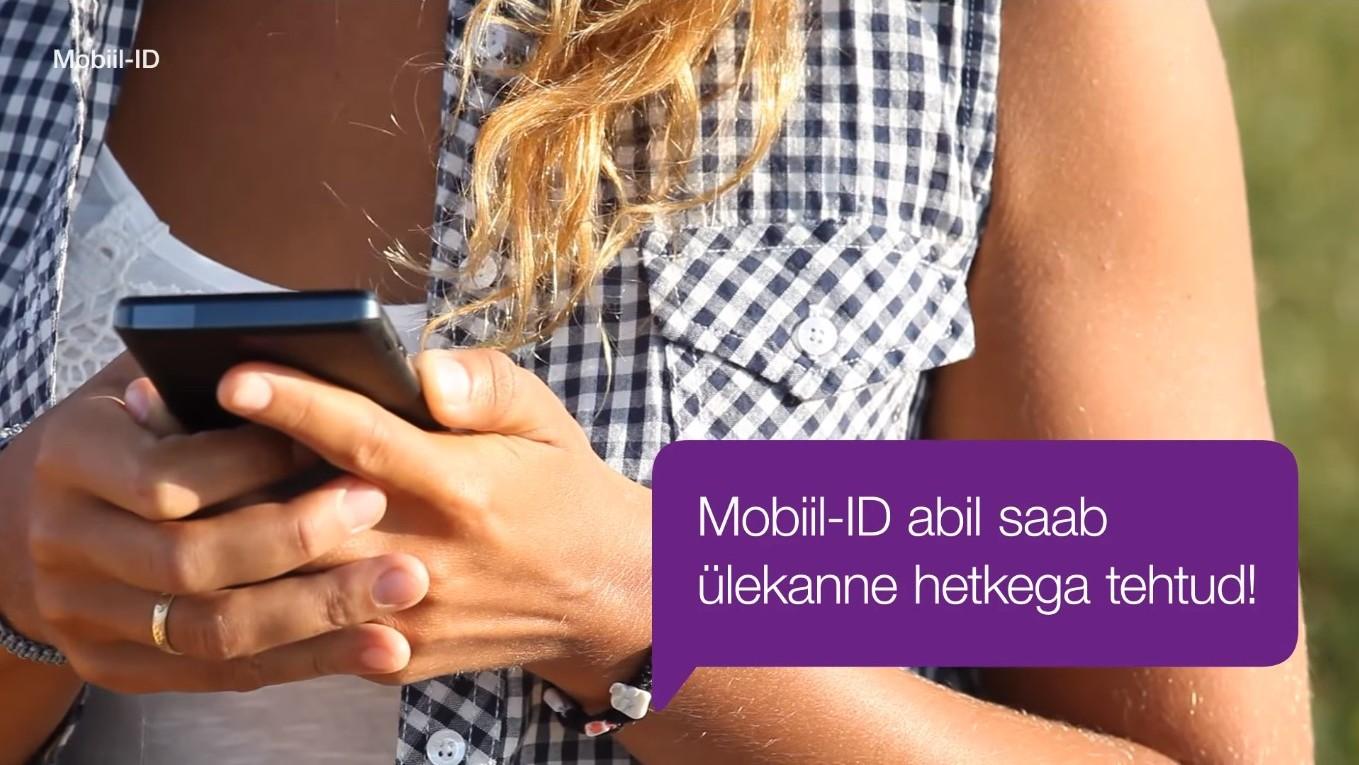 Eelmisel aastal tehti mobiil-ID-ga 41 miljonit tehingut