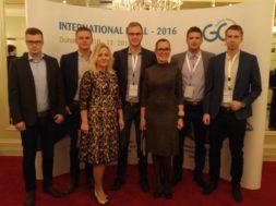 Eesti delegatsioon lõputseremoonial