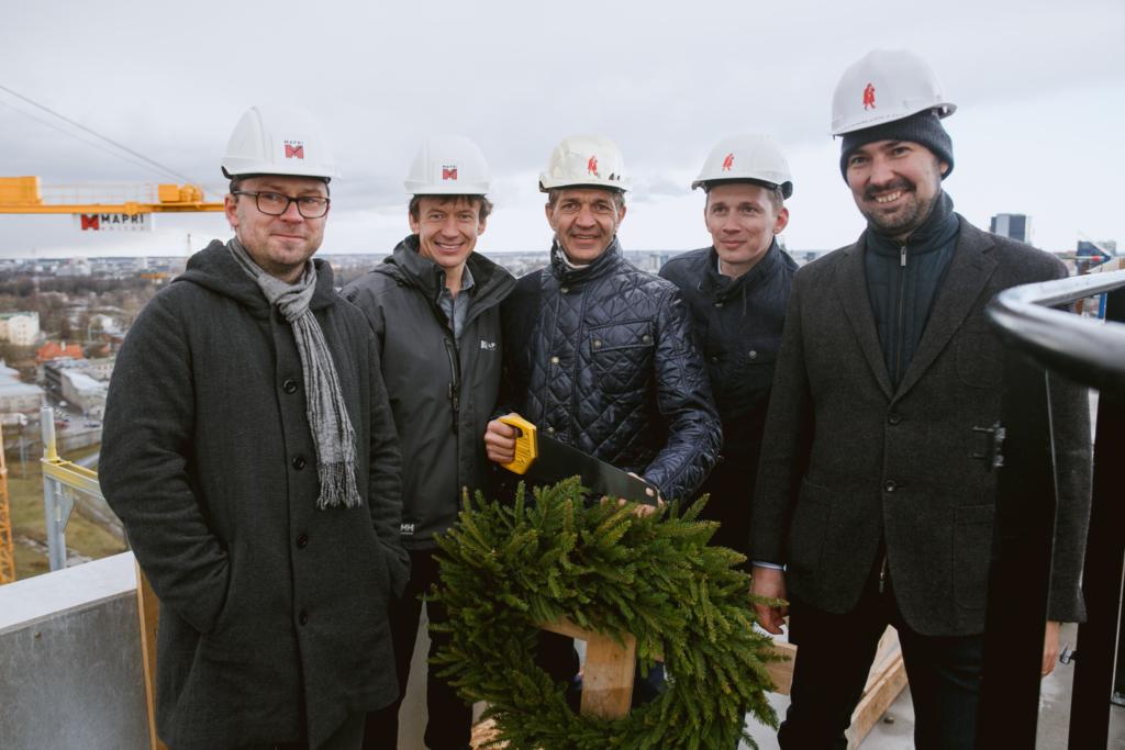 Fotod! Urmas Sõõrumaa esitles Skyline Residence sarikapeol Tallinna parimat vaadet