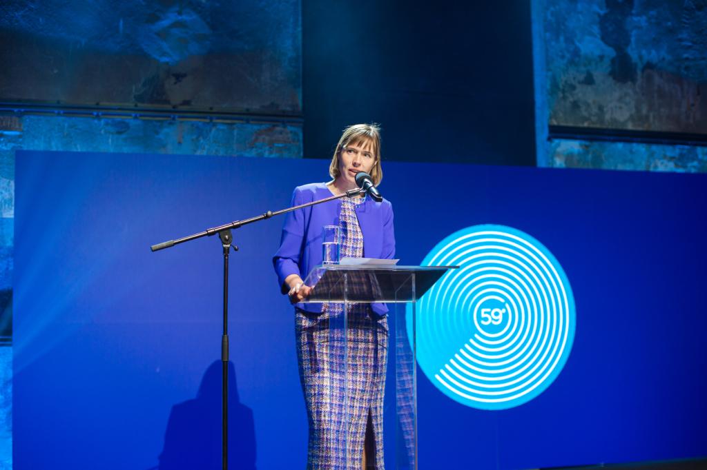 President Kersti Kaljulaid avas tehnoloogiakonverentsi Latitude59