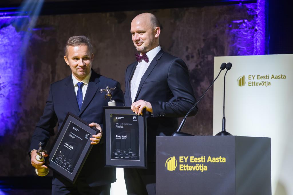 EY Maailma Aasta Ettevõtja 2017 finaalvõistlusel Monacos esindavad Eestit Cleveroni ja ON24 omanikud Arno Kütt ja Peep Kuld