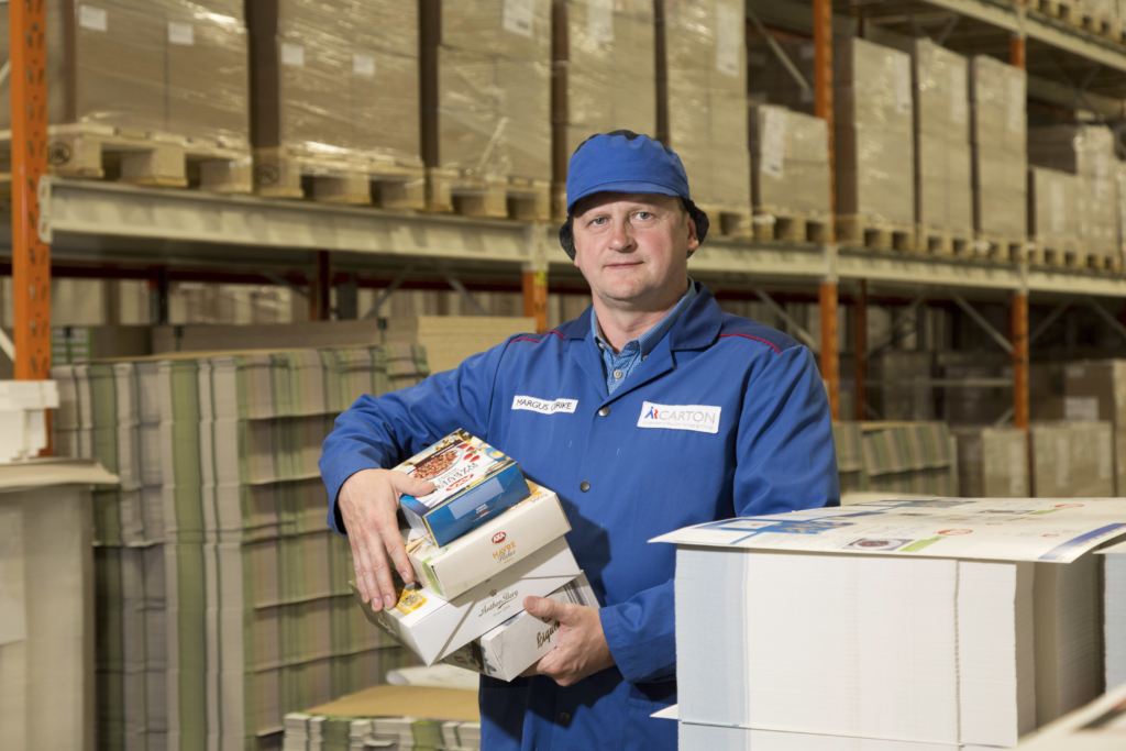 Eesti suurim kartongpakendite tootja A&R Carton laieneb