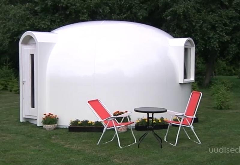 VIDEO! Saaremaa ettevõte toodab maailmas haruldasi kuppelmajasid