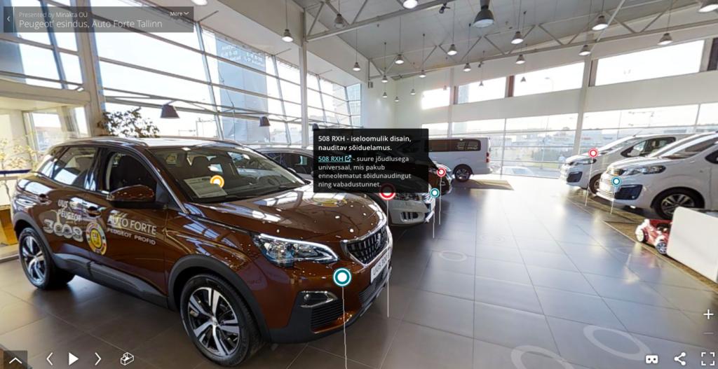 Auto Forte avas Eesti esimese virtuaalse autosalongi