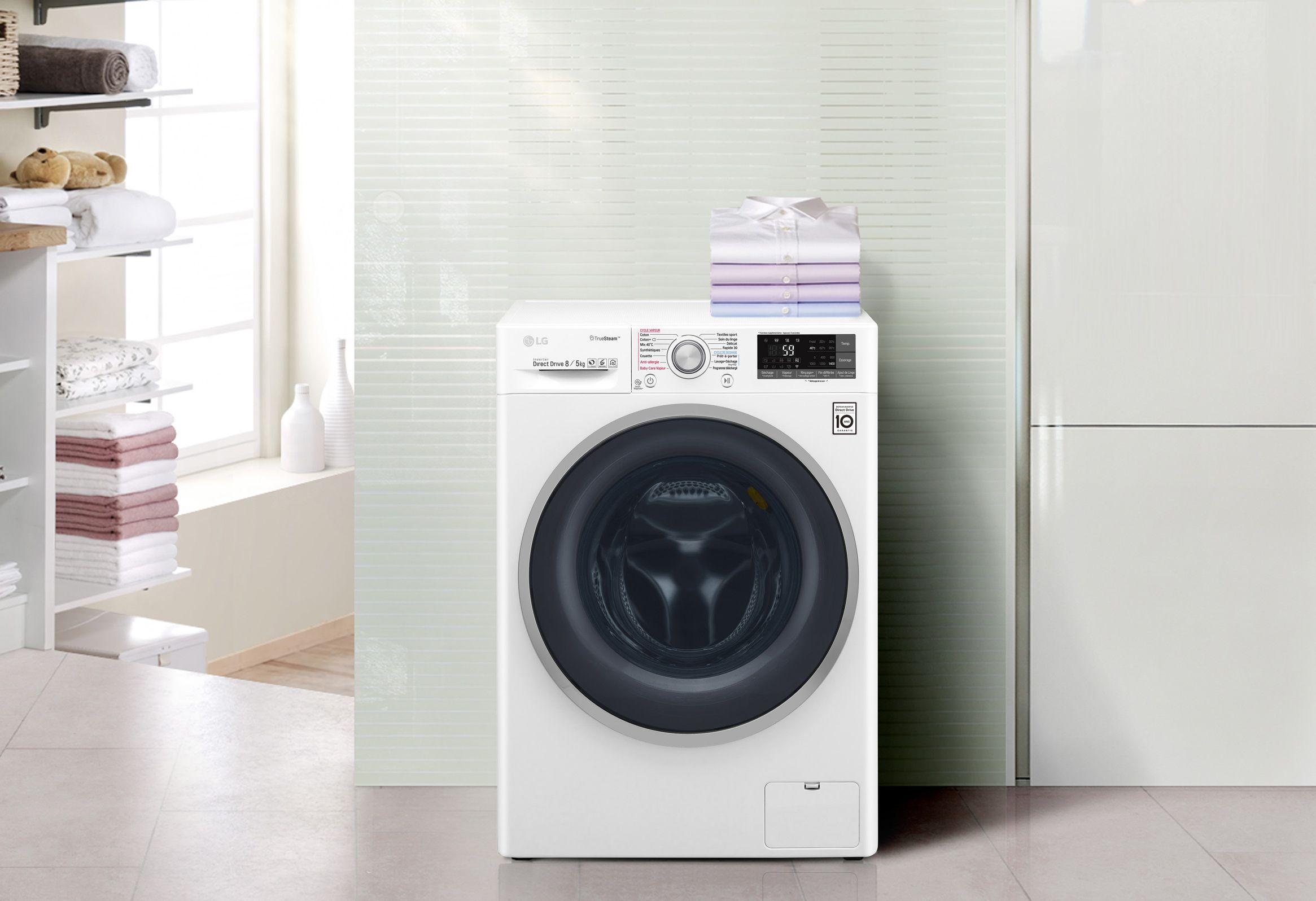 LG kuivatiga pesumasinate müük kasvas hüppeliselt