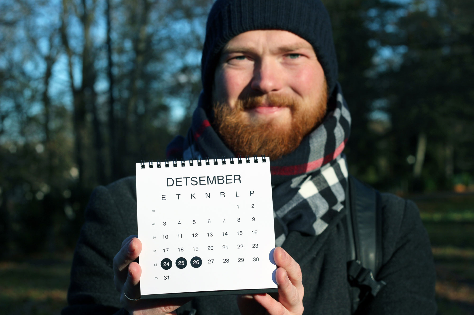 PÕNEV ALGATUS! Minimalistlik Disainkalender aitab ajaga kaasas käia