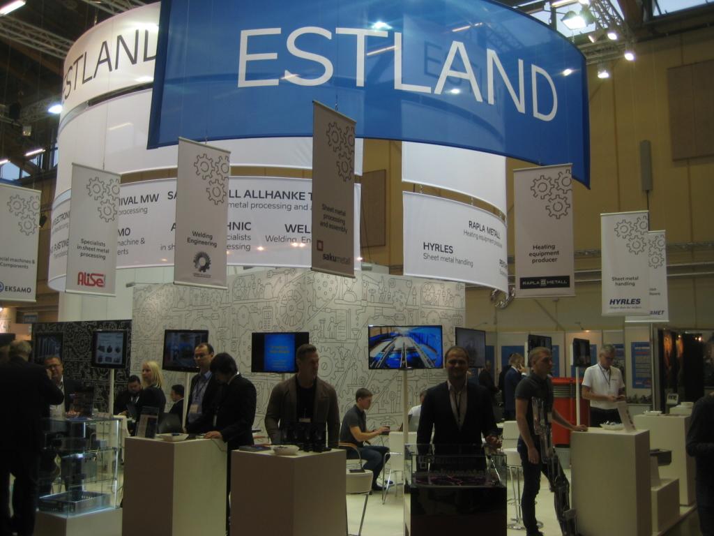FOTOD! Eesti esitleb Rootsi messil krossitsiklit ja mudelraudteed