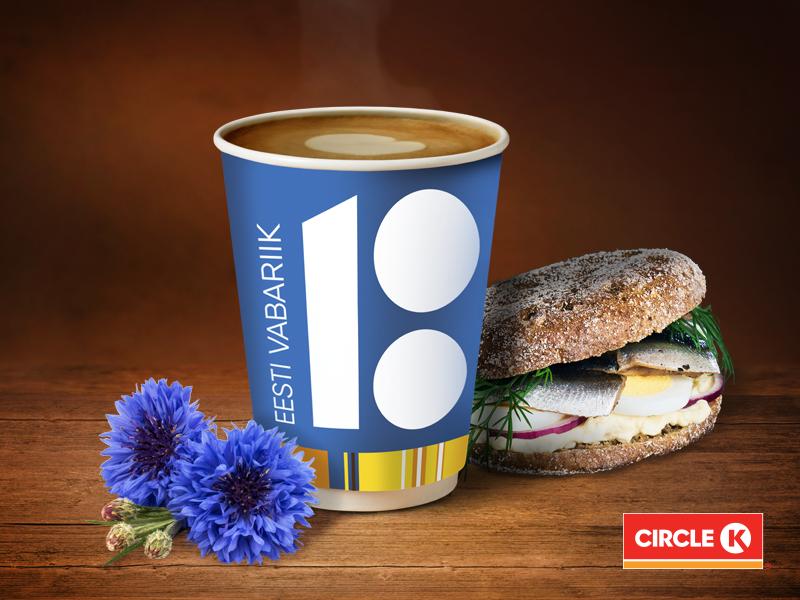 Circle K lisab Eesti juubeli puhul oma tootesortimenti kiluvõilevad
