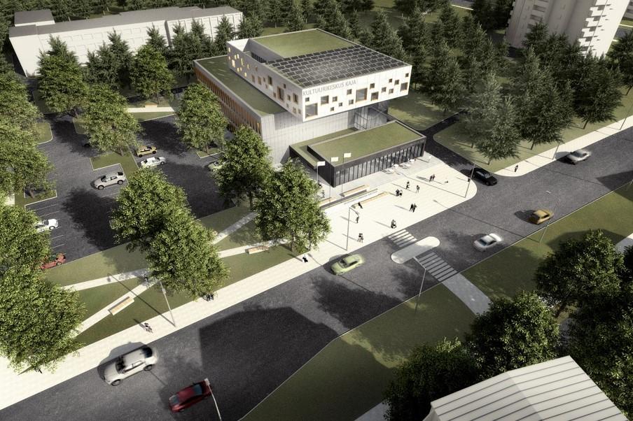 Mustamäele ehitatakse moodne kultuurikeskus