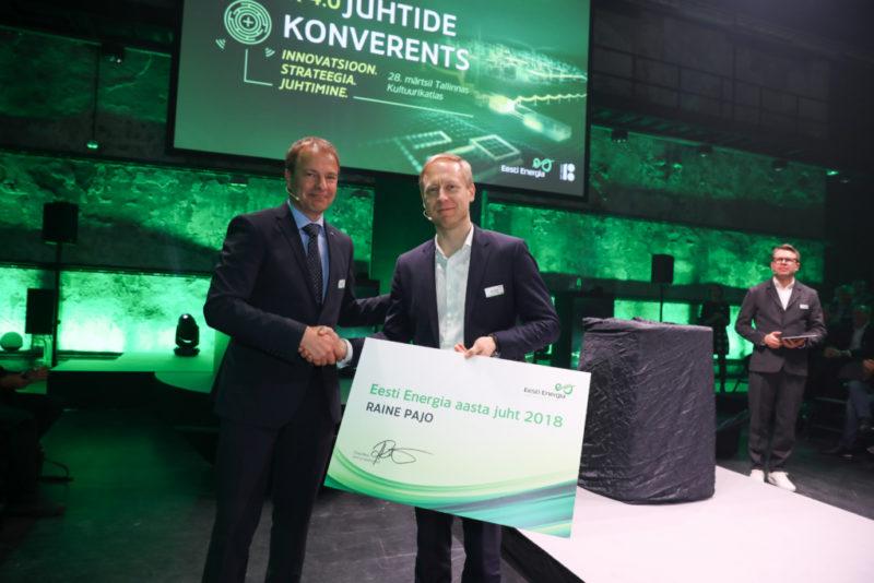 Eesti Energia aasta juhiks valiti energeetikainsener Raine Pajo