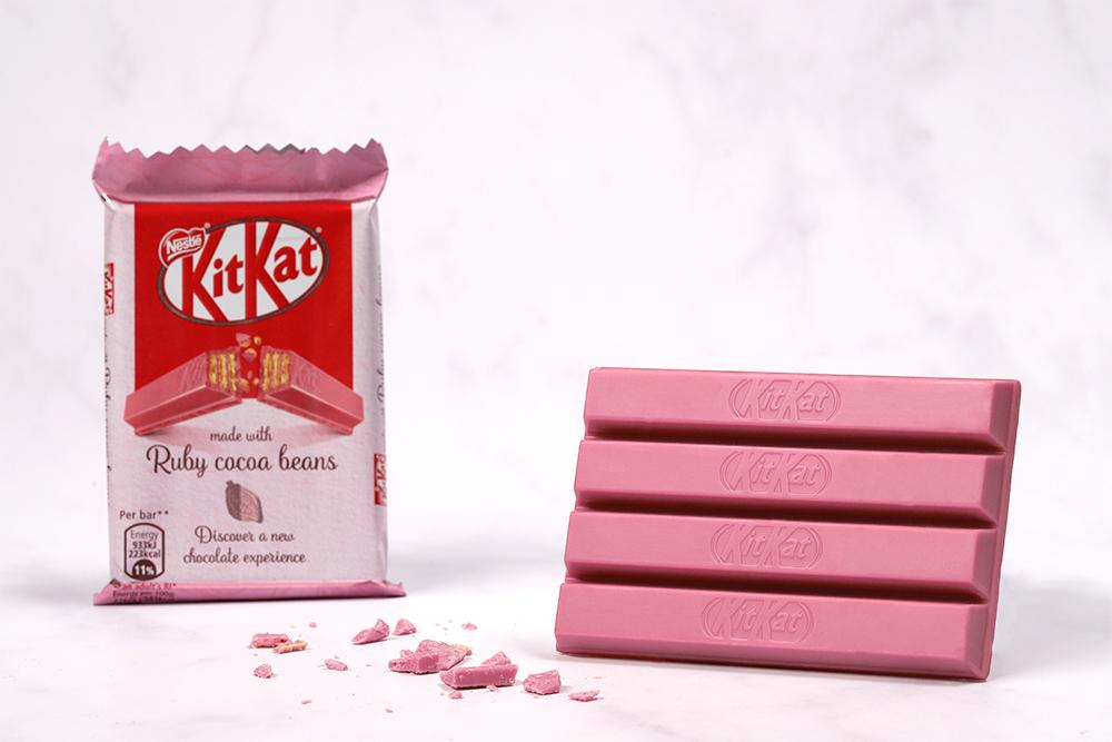 Eestisse jõuab uut tüüpi roosadest Ruby kakaoubadest valmistatud šokolaad