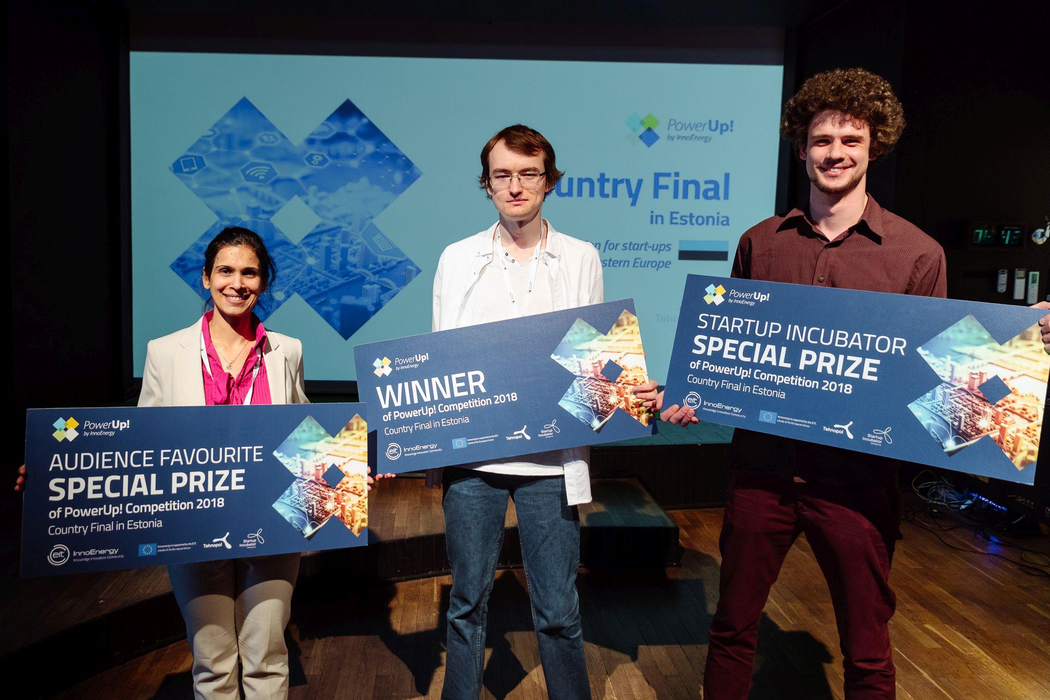Idufirmade konkursi Eesti võitja on Zubax Robotics