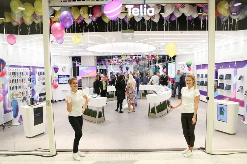 Täna toimub Telia uues Ülemiste esinduses perepidu