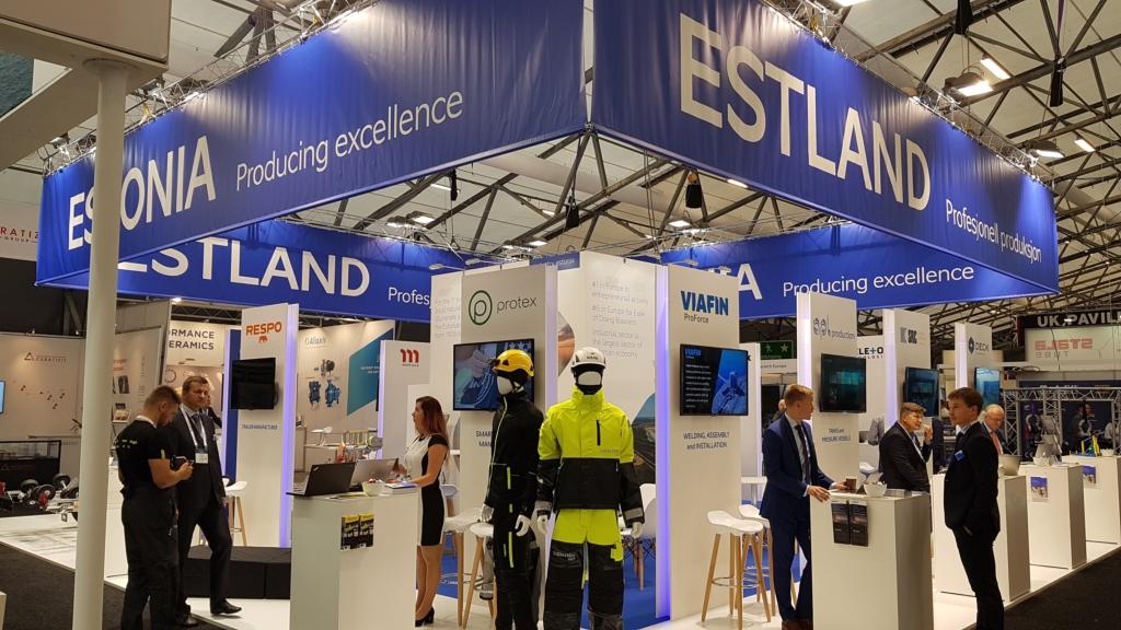EAS viis Eesti ettevõtted Norra offshore-tööstuse messile