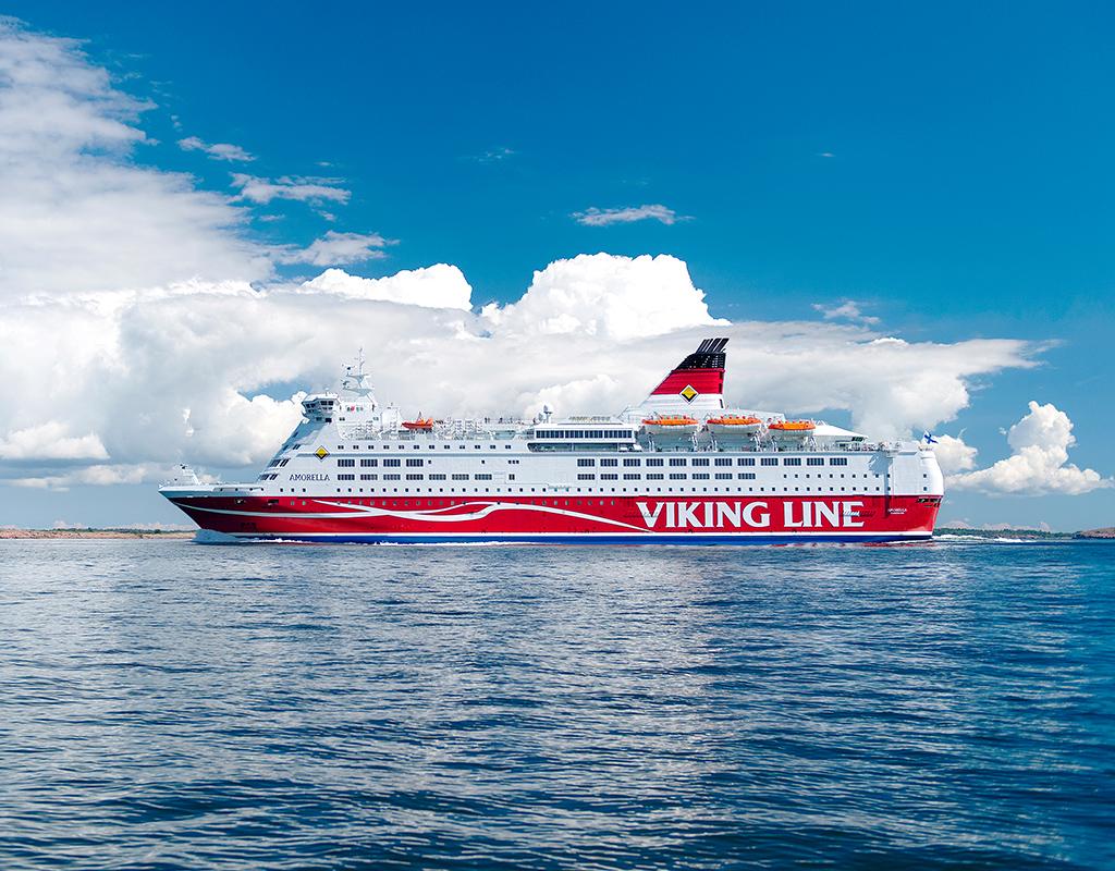 Viking Line'i pardale astus juulikuus 951 010 reisijat