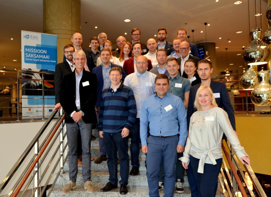 """EAS aitas 43 ettevõttel saada Saksa turu kogemuse! Lõppes ekspordiprogramm """"Missioon Saksamaa"""""""