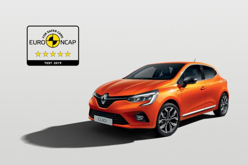 VIIS TÄRNI! Renault Clio sai Euro NCAP-i testimisel kõrgeima hinnangu