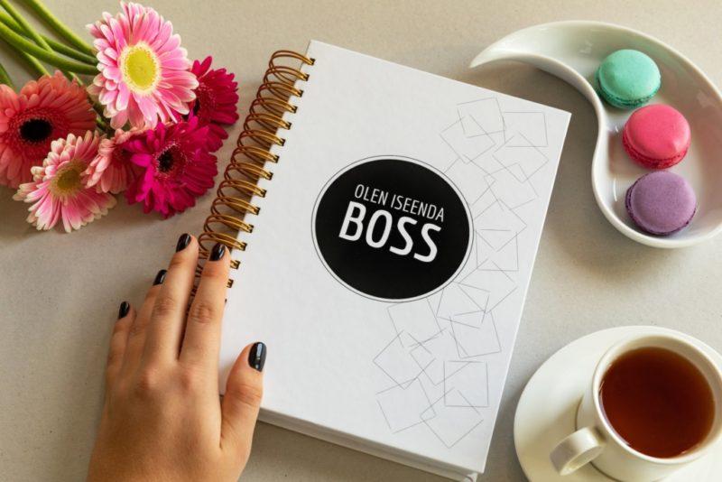 """Märkmik """"Olen iseenda boss"""" aitab analüüsida, planeerida ja arendada"""
