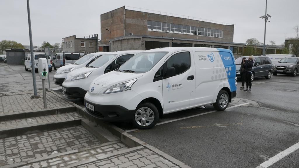 Elektrilevi ostis 30 000-eurosed elektrikaubikud
