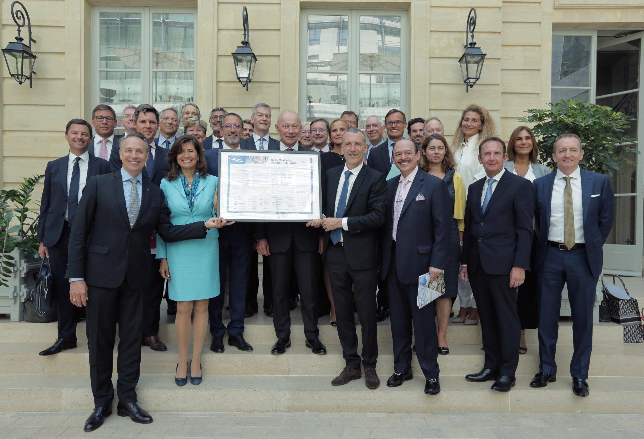 G7 ja rahvusvahelised ettevõtted võitlevad ebavõrdsusega
