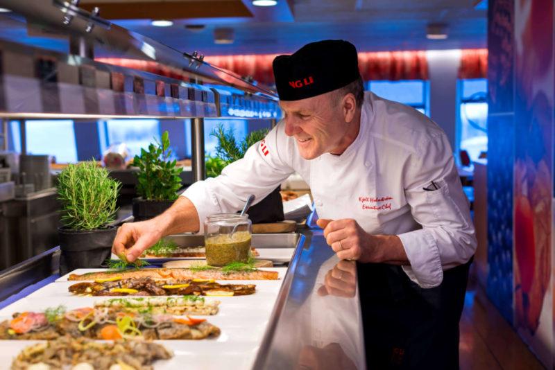 ME SUUDAME OLLA PAREMAD! Viking Line vähendas toidujäätmeid 40% võrra, säästetud kogus on võrdne 70 000 einega!