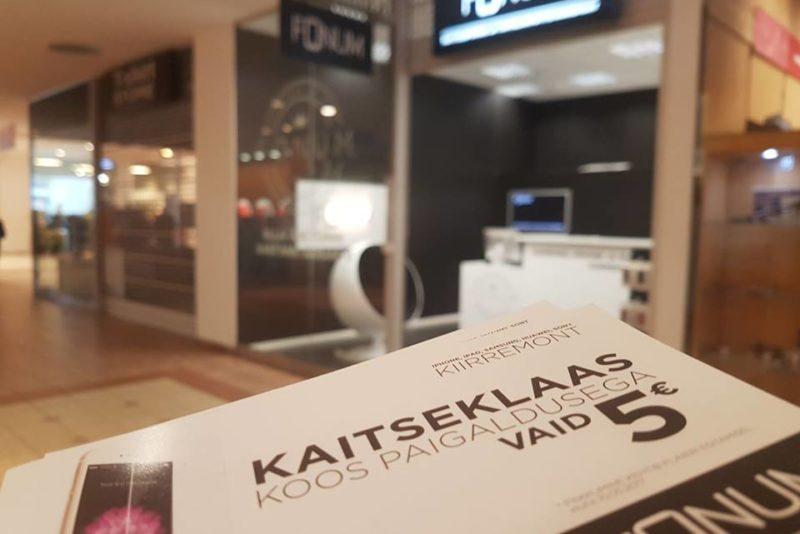 Nutitelefone kiirremontiv ettevõte avas Eestis järjekordse poe