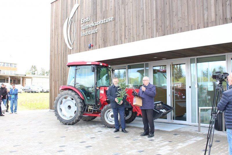 Jõgeval avati taimekasvatuse instituudi aretuskeskus