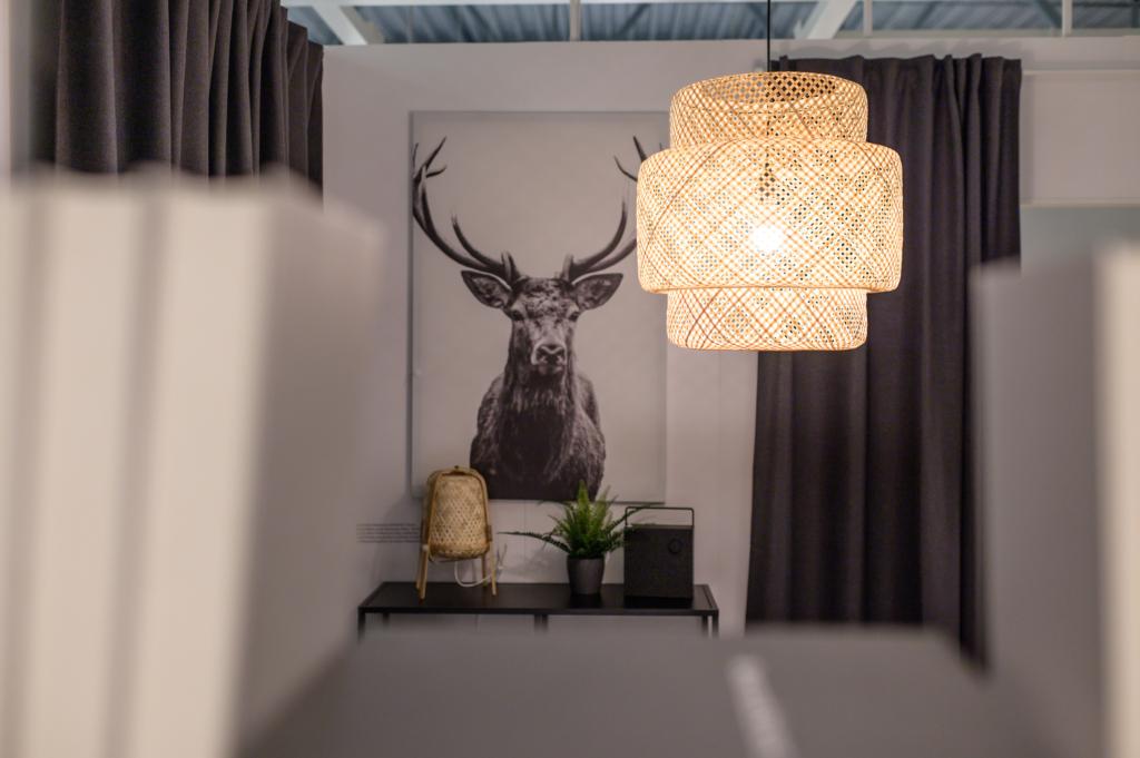Lamp taastöödeldud materjalidest