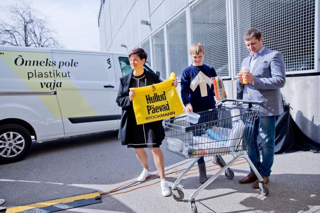 Stockmann loobus Hullude Päevade kilekottidest