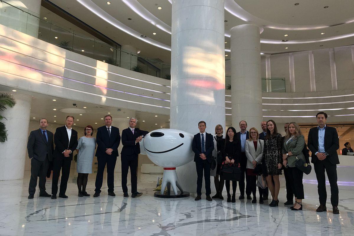 eesti delegatsioon hiinas