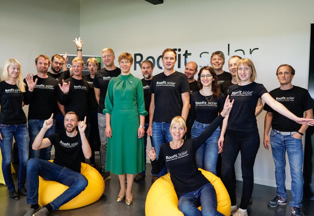 Eesti päikesekatuste idufirma Roofit.solar kaasas uusi investoreid