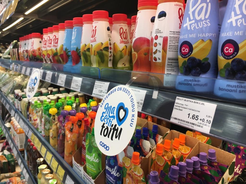 Eesti toidu kuu suurendas Coopis kodumaise kauba müüki