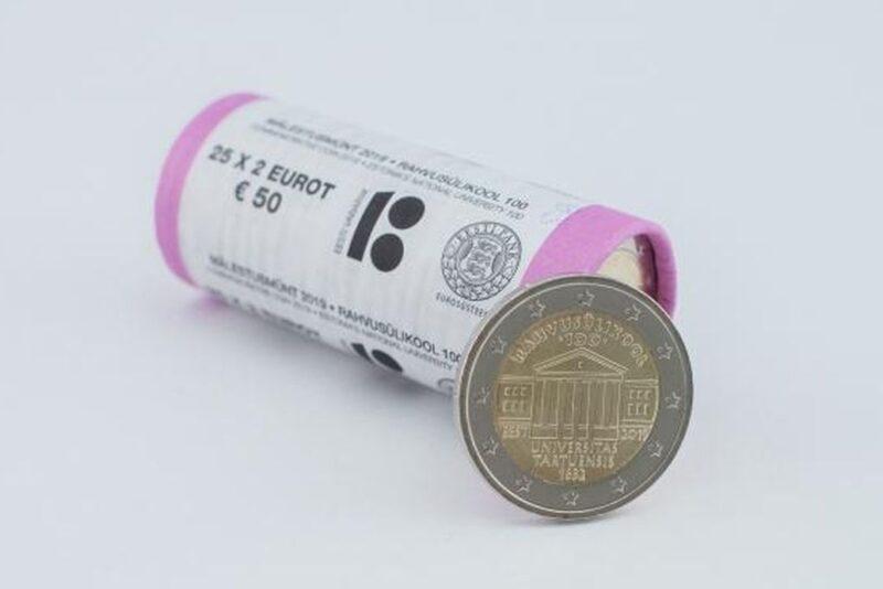 Eesti Pank laseb ringlusse uue 2-eurose