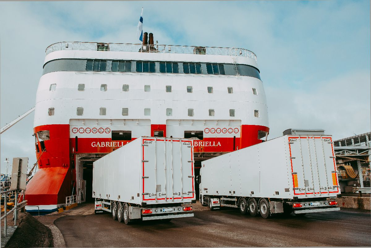 Gabriella veokid (Foto Viking Line)