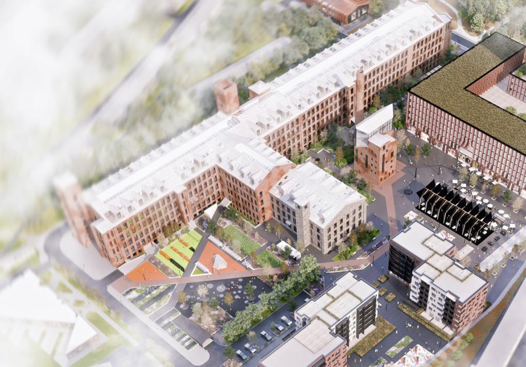 Vaata, millised tööd võitsid Põhja-Tallinna uue tõmbekeskuse, Manufaktuuri kvartali arhitektuurikonkursi