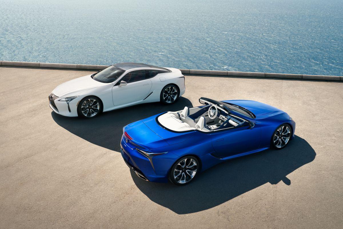 UUED AUTOD TURUL I Lexus LC aasta – turule tuleb uuendatud kupee ja uhiuus LC 500 Convertible