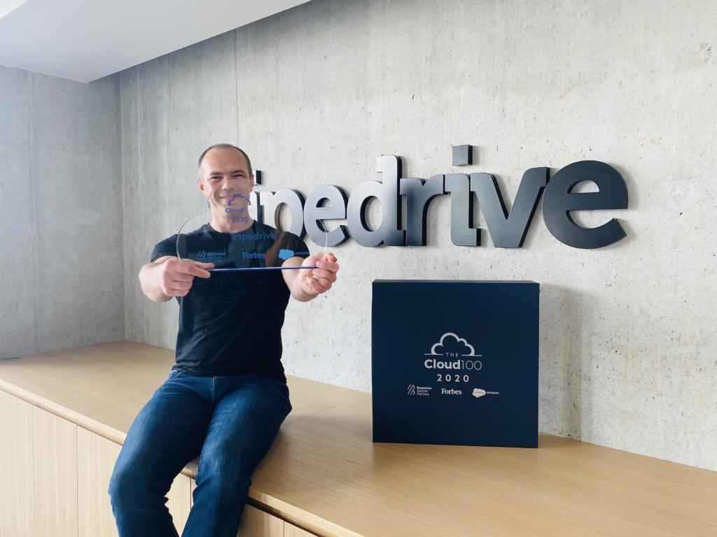 Pipedrive'i tehnoloogiajuht Sergei Anikin Forbes'i auhinnaga