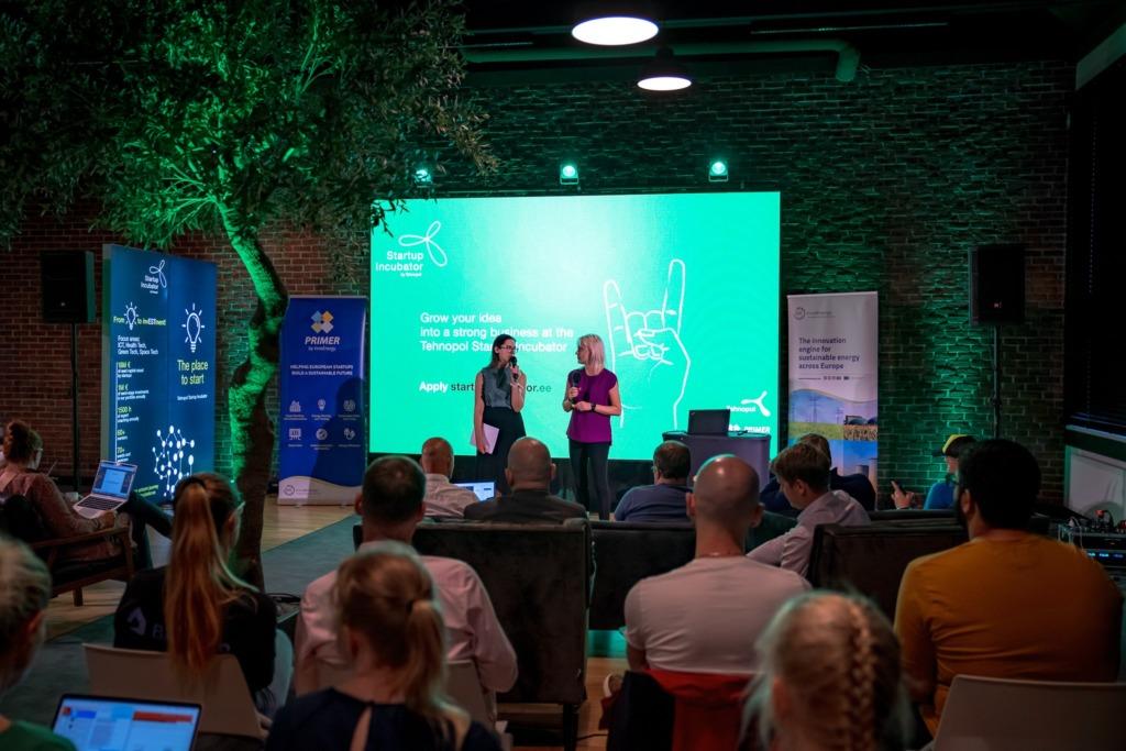 Tehnopol Startup Inkubaatori ettevõtted koolitusel Foto Geir Stint