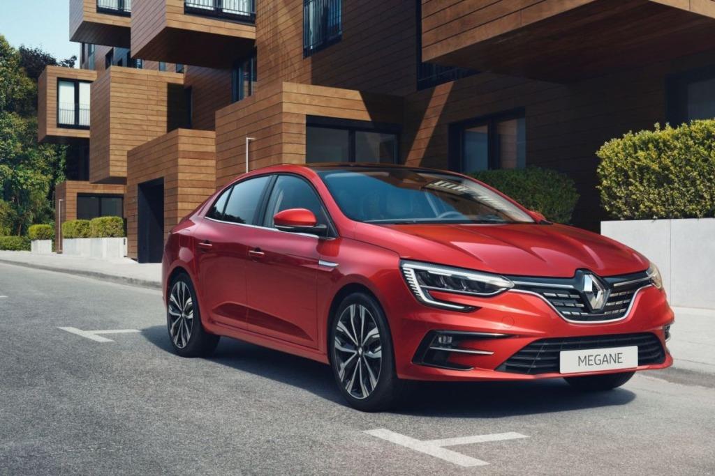 Renault Mégane Grand Coupé läbis uuenduskuuri