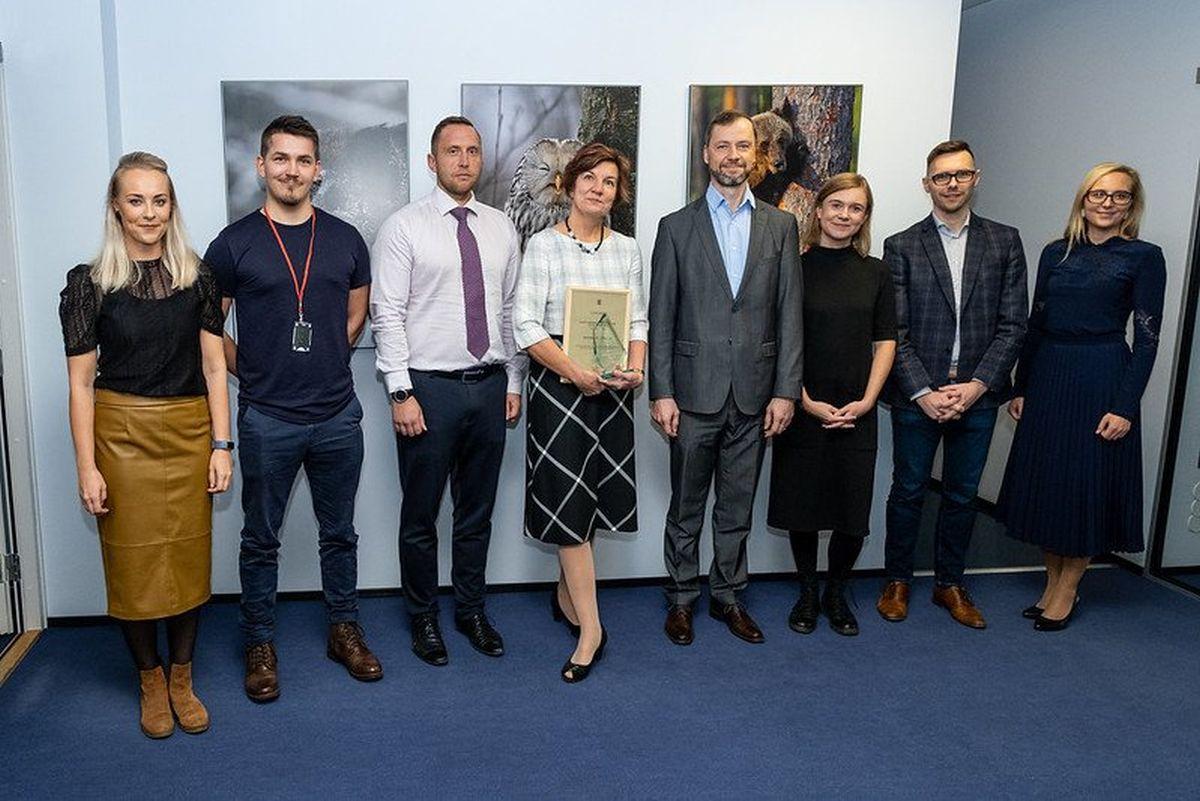Aasta keskkonnasõbralikuim ettevõte on Estonian Cell AS