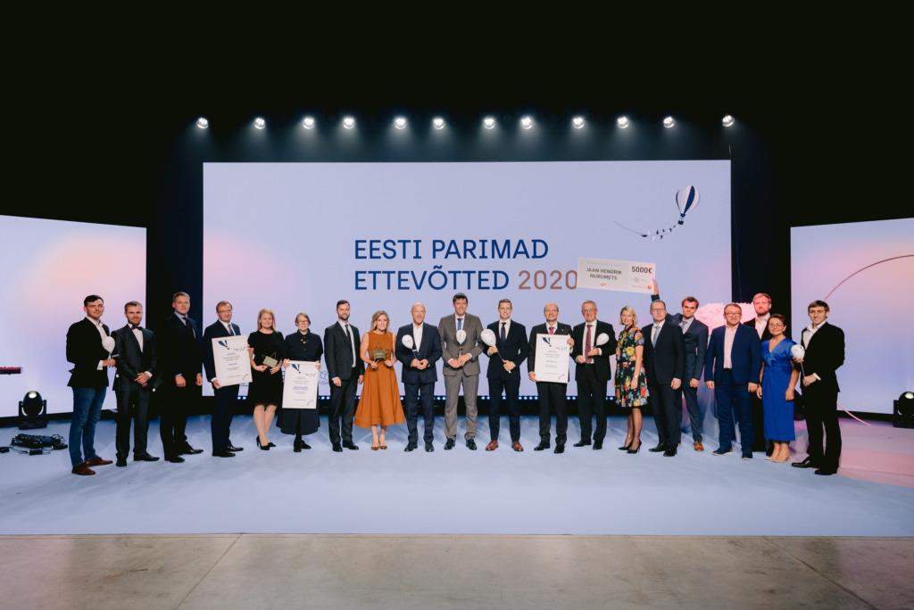 """Täna tunnustati """"Eesti parimad ettevõtted 2020"""" meie kõige tublimaid ettevõtteid"""