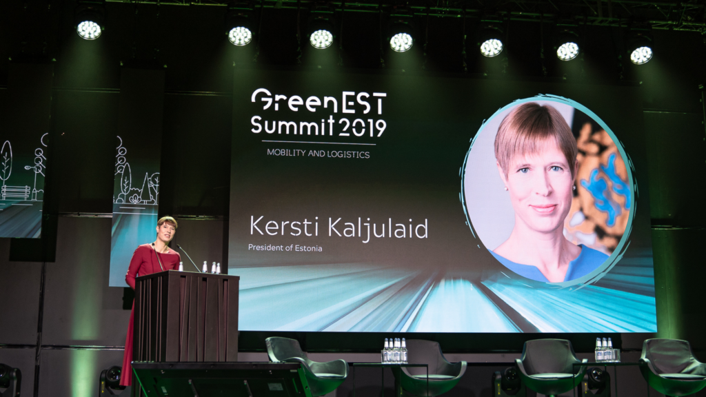 Kersti Kaljulaid Greenest Summit 2019 avakõne