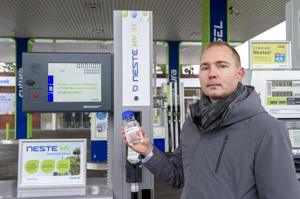 Neste Eesti juht Dennis Antamo – foto Vallo Kruuser