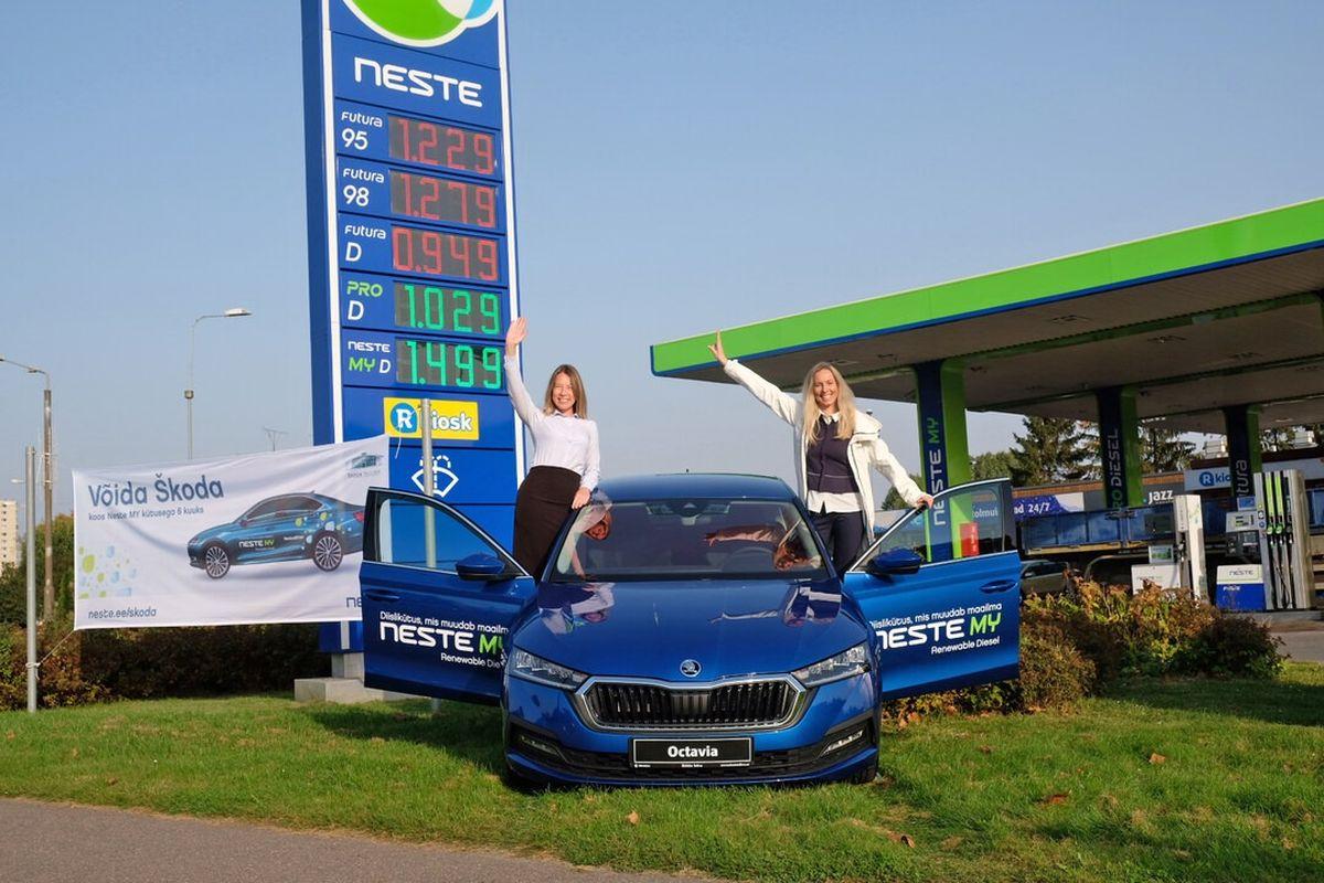 Neste langetas pühadeks kütusehinda kõikides tanklates üle Eesti