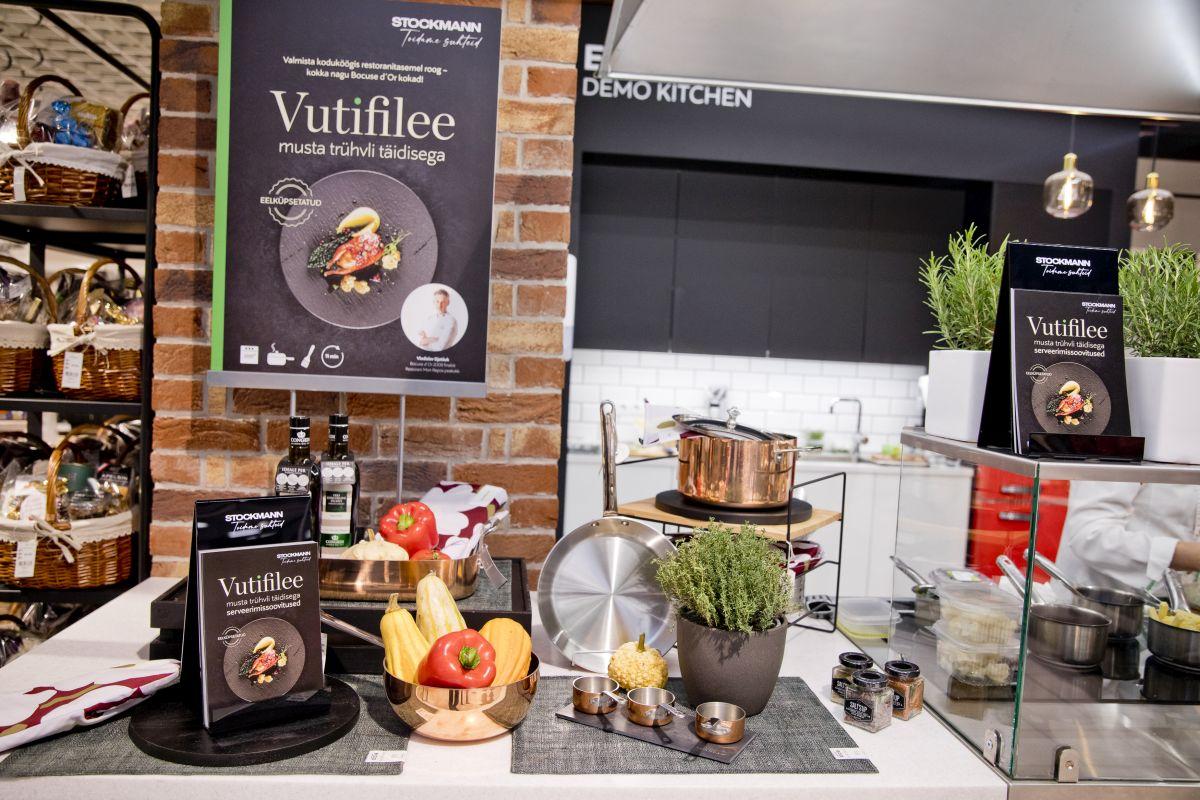 GALERII I Stockmann toob turule uue tootesarja, et vastata suurenenud kodus toiduvalmistamise trendile